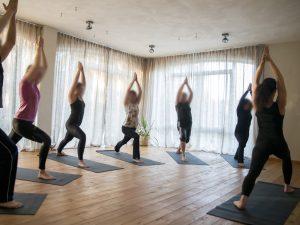 bedrijfs fotografie yoga studio