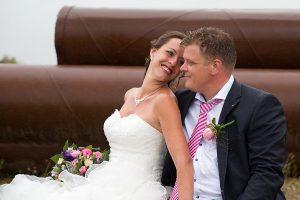 Bruiloft fotografie Limburg Huwelijks fotografie België lol