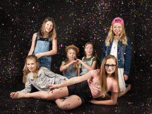 Kinderfeestje fotoshoot Limburg   meiden feestje