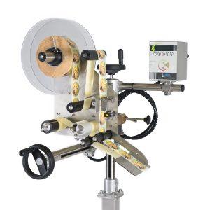 Product fotografie label machine voor bedrijf