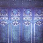 backdrop achtergrond blauw