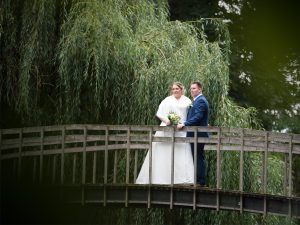 Bruiloft fotografie kasteeltuin Horn